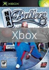 Image of NBA Ballers original video game for Xbox classic game system. Rocket City Arcade, Huntsville Al. We ship used video games Nationwide