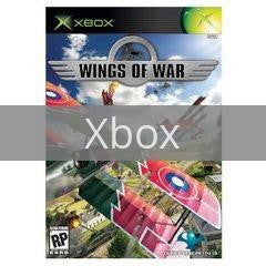 Image of Wings of War original video game for Xbox classic game system. Rocket City Arcade, Huntsville Al. We ship used video games Nationwide