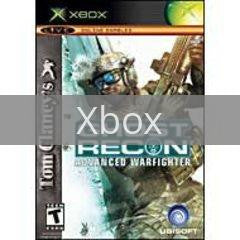 Image of Ghost Recon Advanced Warfighter Limited Edition original video game for Xbox classic game system. Rocket City Arcade, Huntsville Al. We ship used video games Nationwide