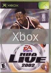 Image of NBA Live 2002 original video game for Xbox classic game system. Rocket City Arcade, Huntsville Al. We ship used video games Nationwide