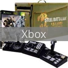 Image of Steel Battalion original video game for Xbox classic game system. Rocket City Arcade, Huntsville Al. We ship used video games Nationwide