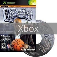 Image of NBA Ballers Phenom original video game for Xbox classic game system. Rocket City Arcade, Huntsville Al. We ship used video games Nationwide