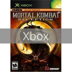 Image of Mortal Kombat Deception original video game for Xbox classic game system. Rocket City Arcade, Huntsville Al. We ship used video games Nationwide