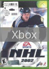 Image of NHL 2002 original video game for Xbox classic game system. Rocket City Arcade, Huntsville Al. We ship used video games Nationwide