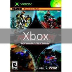 Image of MX vs. ATV Unleashed original video game for Xbox classic game system. Rocket City Arcade, Huntsville Al. We ship used video games Nationwide