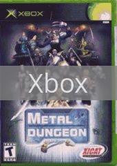 Image of Metal Dungeon original video game for Xbox classic game system. Rocket City Arcade, Huntsville Al. We ship used video games Nationwide