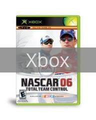Image of NASCAR 06 Total Team Control original video game for Xbox classic game system. Rocket City Arcade, Huntsville Al. We ship used video games Nationwide