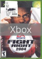 Image of Fight Night 2004 original video game for Xbox classic game system. Rocket City Arcade, Huntsville Al. We ship used video games Nationwide