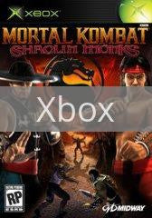 Image of Mortal Kombat Shaolin Monks original video game for Xbox classic game system. Rocket City Arcade, Huntsville Al. We ship used video games Nationwide