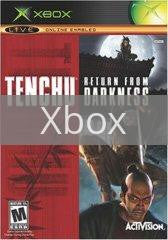 Image of Tenchu Return from Darkness original video game for Xbox classic game system. Rocket City Arcade, Huntsville Al. We ship used video games Nationwide