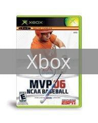 Image of MVP NCAA Baseball 2006 original video game for Xbox classic game system. Rocket City Arcade, Huntsville Al. We ship used video games Nationwide