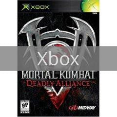 Image of Mortal Kombat Deadly Alliance original video game for Xbox classic game system. Rocket City Arcade, Huntsville Al. We ship used video games Nationwide