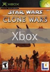 Image of Star Wars Clone Wars original video game for Xbox classic game system. Rocket City Arcade, Huntsville Al. We ship used video games Nationwide