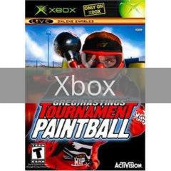 Image of Greg Hastings Tournament Paintball original video game for Xbox classic game system. Rocket City Arcade, Huntsville Al. We ship used video games Nationwide