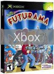Image of Futurama original video game for Xbox classic game system. Rocket City Arcade, Huntsville Al. We ship used video games Nationwide
