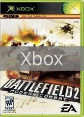 Image of Battlefield 2 Modern Combat original video game for Xbox classic game system. Rocket City Arcade, Huntsville Al. We ship used video games Nationwide
