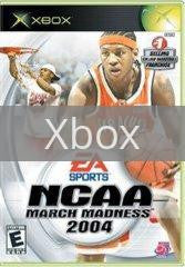 Image of NCAA March Madness 2004 original video game for Xbox classic game system. Rocket City Arcade, Huntsville Al. We ship used video games Nationwide
