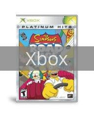 Image of The Simpsons Road Rage original video game for Xbox classic game system. Rocket City Arcade, Huntsville Al. We ship used video games Nationwide
