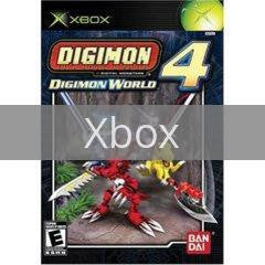 Image of Digimon World 4 original video game for Xbox classic game system. Rocket City Arcade, Huntsville Al. We ship used video games Nationwide