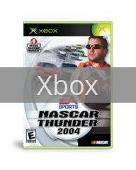 Image of NASCAR Thunder 2004 original video game for Xbox classic game system. Rocket City Arcade, Huntsville Al. We ship used video games Nationwide