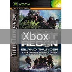 Image of Ghost Recon Island Thunder original video game for Xbox classic game system. Rocket City Arcade, Huntsville Al. We ship used video games Nationwide