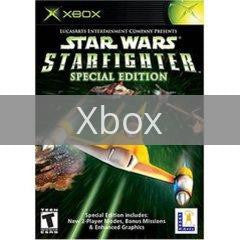 Image of Star Wars Starfighter Special Edition original video game for Xbox classic game system. Rocket City Arcade, Huntsville Al. We ship used video games Nationwide