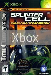 Image of Splinter Cell Pandora Tomorrow original video game for Xbox classic game system. Rocket City Arcade, Huntsville Al. We ship used video games Nationwide