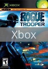 Image of Rogue Trooper original video game for Xbox classic game system. Rocket City Arcade, Huntsville Al. We ship used video games Nationwide