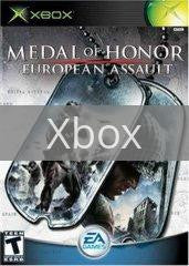 Image of Medal of Honor European Assault original video game for Xbox classic game system. Rocket City Arcade, Huntsville Al. We ship used video games Nationwide