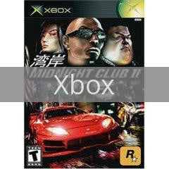 Image of Midnight Club 2 original video game for Xbox classic game system. Rocket City Arcade, Huntsville Al. We ship used video games Nationwide
