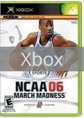 Image of NCAA March Madness 2006 original video game for Xbox classic game system. Rocket City Arcade, Huntsville Al. We ship used video games Nationwide