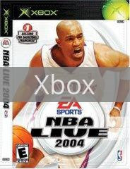 Image of NBA Live 2004 original video game for Xbox classic game system. Rocket City Arcade, Huntsville Al. We ship used video games Nationwide