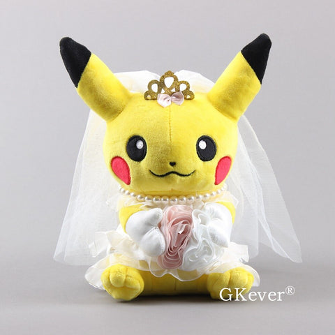 Pikachu Cosplay Wedding 10 Inch Plush
