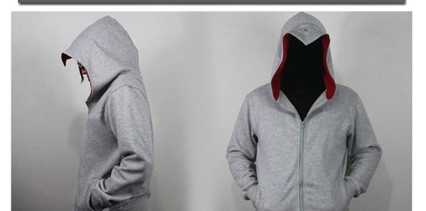 Assassin's Creed Gray Hooded Sweatshirt