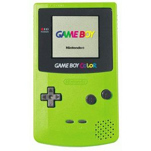 Green Game Boy Color