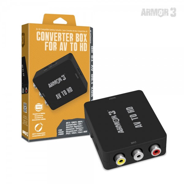 Converter Box for AV to HD - Armor3