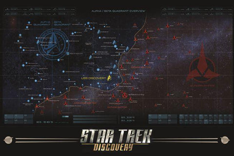 Star Trek Discovery - Map