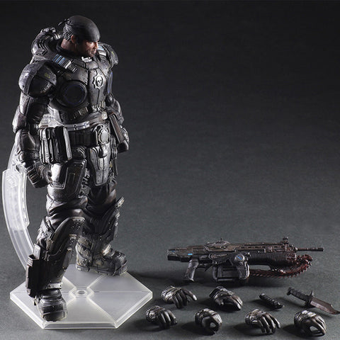 Gears of War 3 War Machine Marcus Fenix Figure