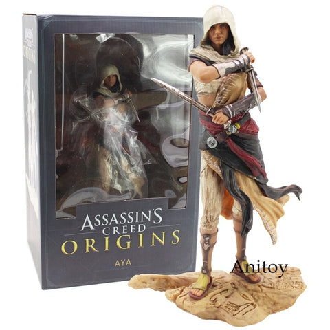 "Assassins Creed Origins Aya Figure Toys Doll 10"" 25cm With Box"