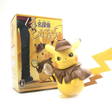 Pikachu Cosplay Detective Pikachu figure 10 Inch with box