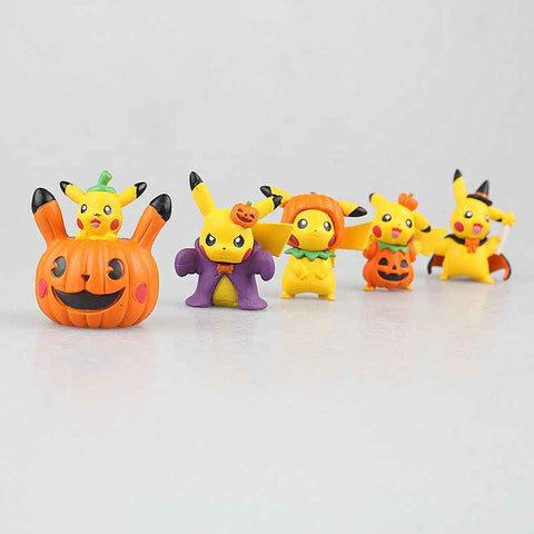 Pikachu Cosplay Halloween 2 Inch Figure Each No Box