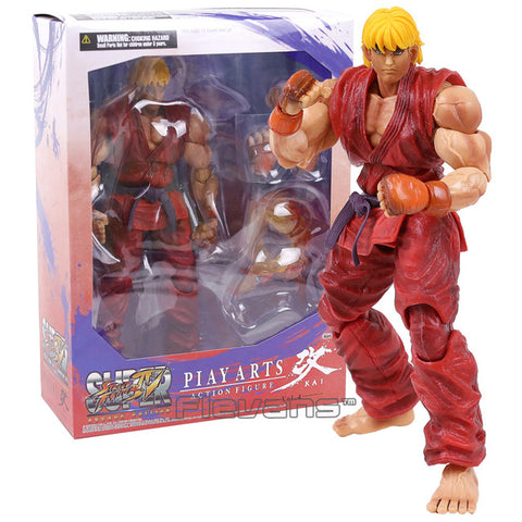 Street Fighter IV Ken figure 12 Inch With Box