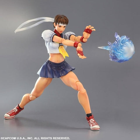 Street Fighter IV Sakura Figure 12 Inch With Box