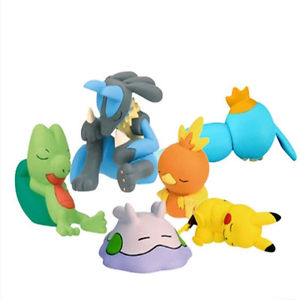 Pokemon Sleeping Figure 2 Inches No Box