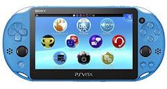 PlayStation Vita Slim Aqua Blue Console