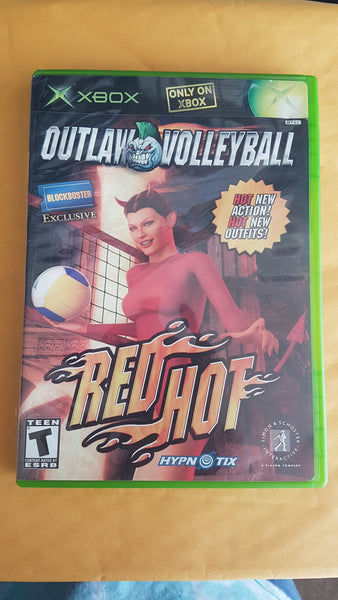 Outlaw Volleyball Red Hot