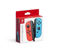 Joy-Con Red and Blue