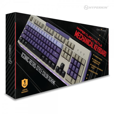 Hyper Clack Tactile Mechanical Keyboard for PC/ Mac