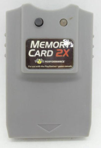 2X Memory Card for Playstation