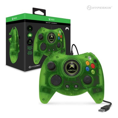 Hyperkin Duke Wired Controller for Xbox One/ Windows 10 PC (Green Limited Edition)
